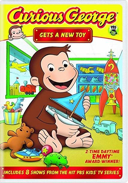 Frank Welker & Jeff Bennett - Curious George: Gets a New Toy