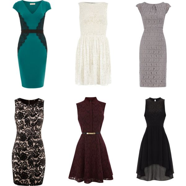 """""""Budget Friendly Lace Dresses"""" by lifetenstyle"""