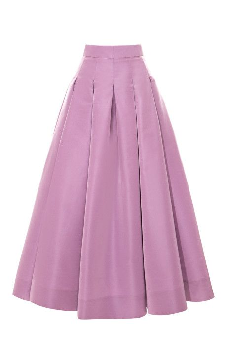 Box Pleat Swing Skirt by Katie Ermilio for Preorder on Moda OperandiLOVE