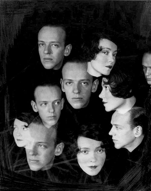 whataboutbobbed:    Fred and Adele Astaire by Cecil Beaton, 1930