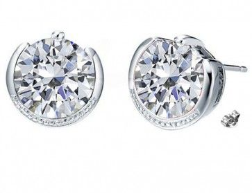 Exclusive Swarovski Stud Earrings Online Ping With Latest Design India Free Shipping Low Price