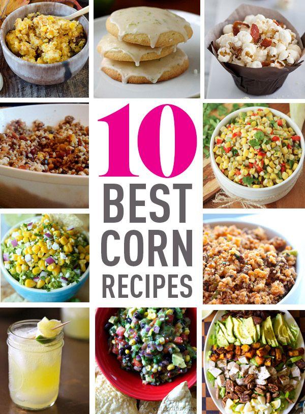 10 Best Corn Recipes
