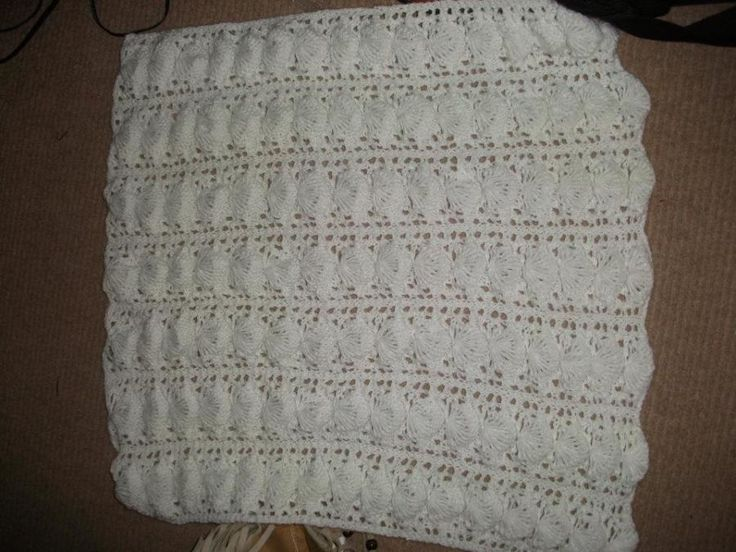 Shell Blanket - Knitting creation by mobilecrafts   Knit.Community
