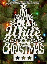 Scroll Saw Patterns :: Holidays :: Christmas :: Trees :: 'White Christmas' tree -