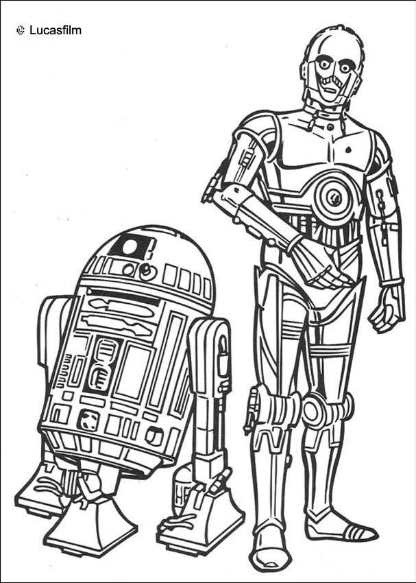 80 best Star Wars Coloring pages images on Pinterest Star wars - best of chopper star wars coloring pages