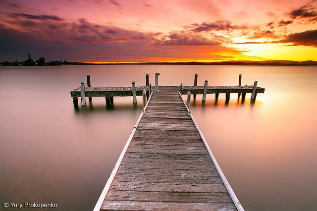 Sunset @ Lake Macquarie (Yury Prokopenko)