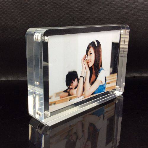 "Customized Clear Acrylic 4""x6"" 5""x7"" 6""x8"" Magnet Photo Frame Direct Sale Photo, Detailed about Customized Clear Acrylic 4""x6"" 5""x7"" 6""x8"" Magnet Photo Frame Direct Sale Picture on Alibaba.com."