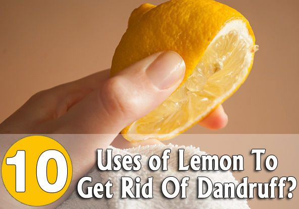 How To Use Lemon To Get Rid Of Dandruff?: To known more on how to remove dandruff choose one of the following methods that is most suitable for you.