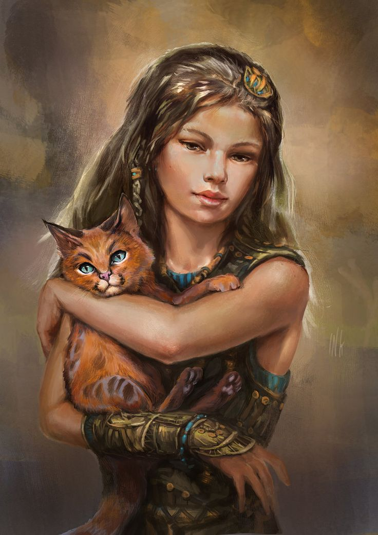 The kitten was the only happiness the girl had left, so I let her keep him, even though I would have to feed both of them. He sat on her shoulder wherever she went, his fluffy orange tail always sticking out behind her hair.