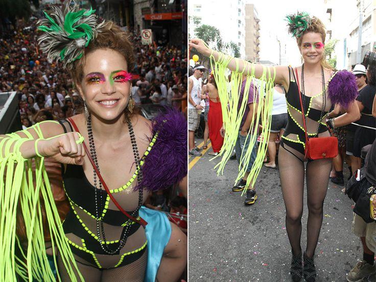 Inspire-se nas fantasias de famosas como Leandra Leal e Carolina Dieckmann neste carnaval