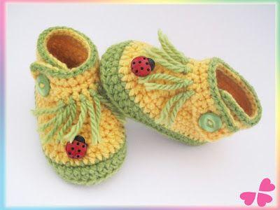 477 besten Baby Schuhe stricken Bilder auf Pinterest | Babyhäkelei ...