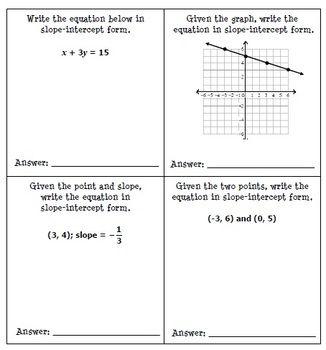 Writing Linear Equations Worksheet Gina Wilson Livinghealthybulletin