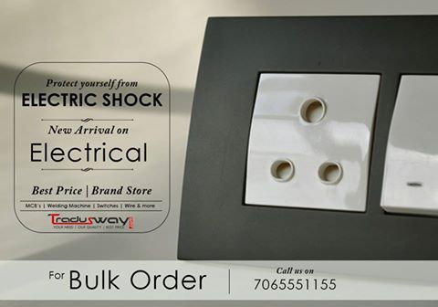 Watch out the Best Electric Switches for Home and your Safety. Beware of electric shocks. Weblink: www.tradusway.com
