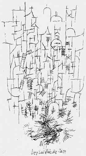 Paul Klee  Der Tod für die Idee
