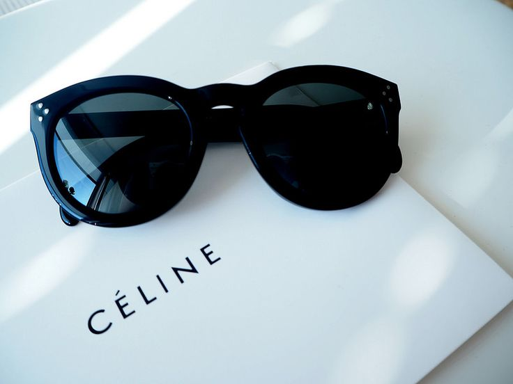 A'la Annn: Céline Preppy Sunglasses  New Celine Preppy Sunglasses.  Black and polarized.   Accessories. Fashion.