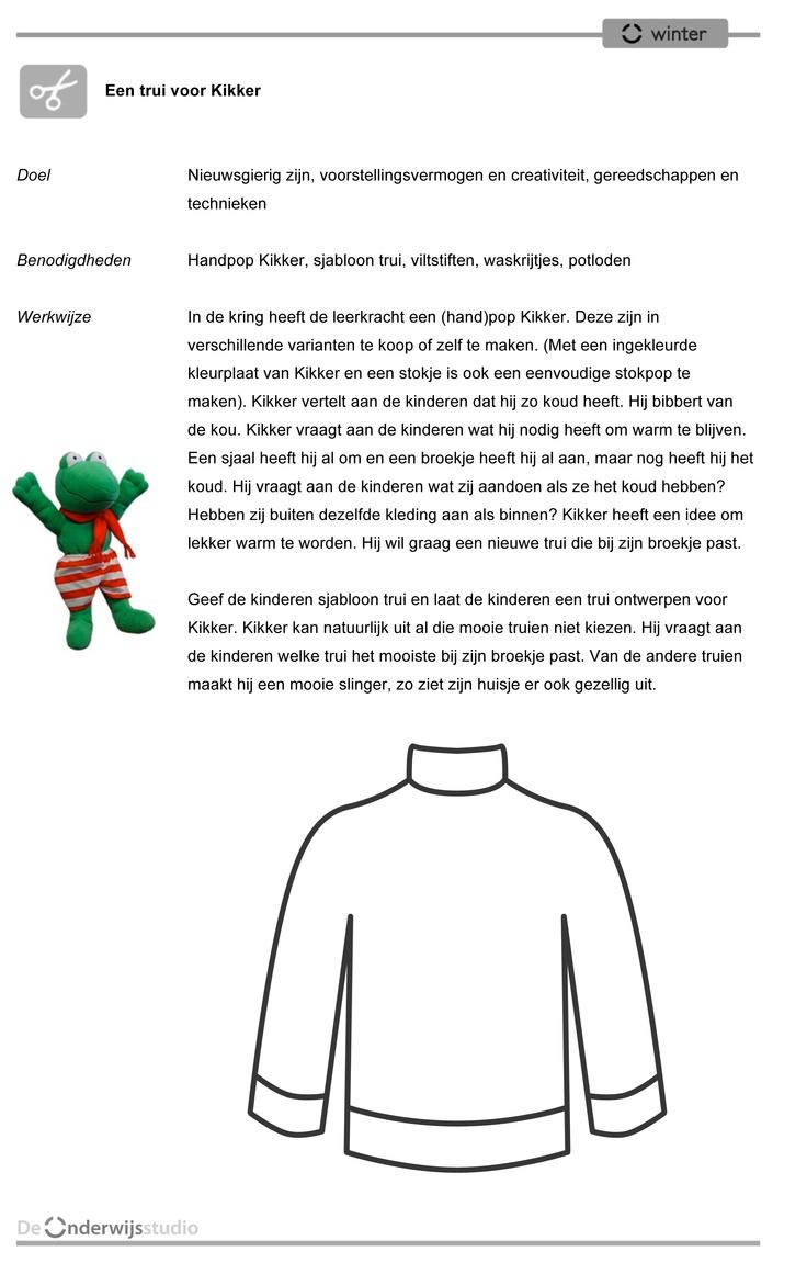 Een trui voor Kikker