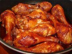 Блюдо просто отменное и хлопот на 1 минуту, главное здесь соус! Курица получается очень вкусная даже без предварительного маринования. Количество куриного мяса зависит от порции. Этого соево-медов…