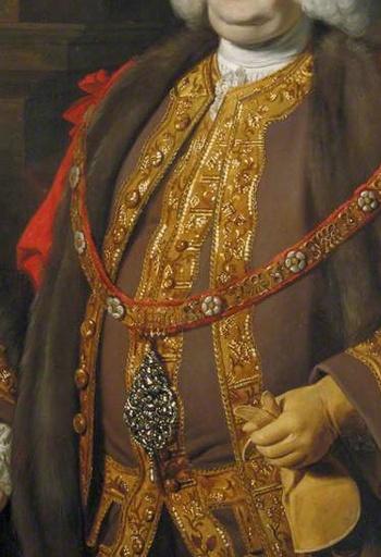 Lord Mayor Paunch! Sir Robert Kite (c.1708–1772), Lord Mayor of London (1766) by Nathaniel Dance-Holland.