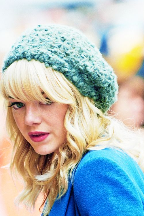 Once somebody told me I looked like Emma Stone. I love them, so much.