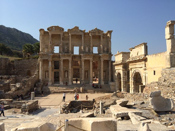 Celsus Library(Celcius Library) at Ephesus_201410