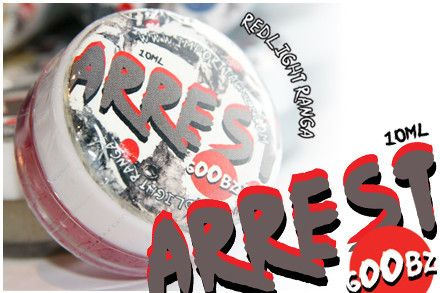 Arrest 'Goobz' Scent - Redlight Ranga | Fishing Scents by Arrest | Import Tackle - Import Tackle | Online Fishing Tackle Store