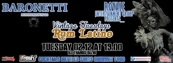 PHOTOS: Vintage Tuesdays - Rum Latino @ Baronetti (2/12)    Δείτε όλες τις photo από το Vintage Tuesdays - Rum Latino (2/12)στο Ba