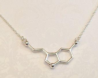 Filamento de ADN doble hélice collar regalo para médicos