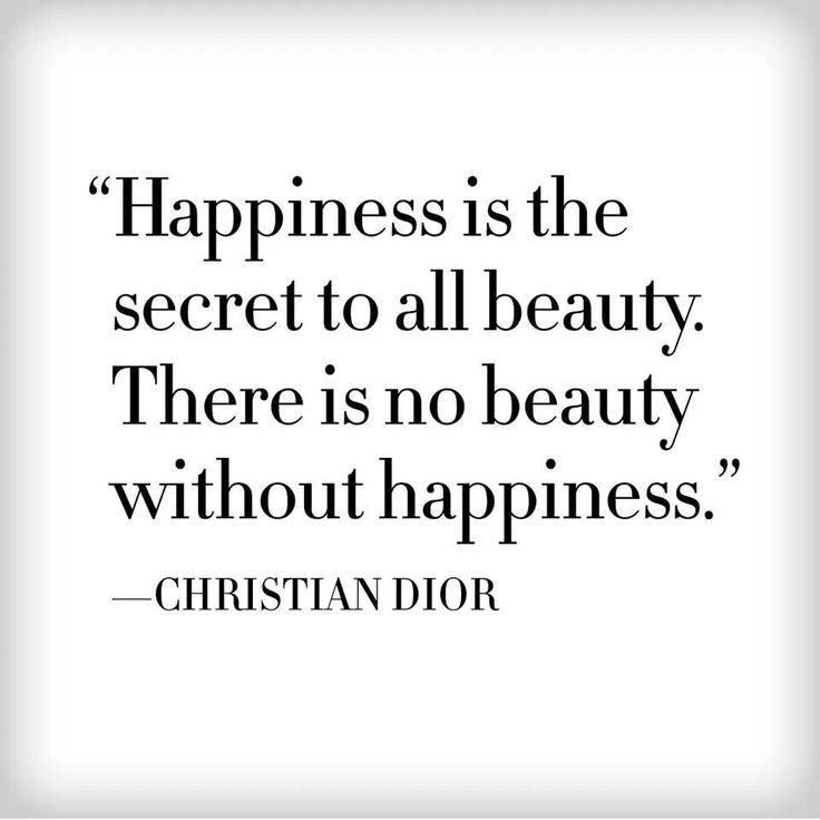 Christian Dior #quotes #happiness #beauty