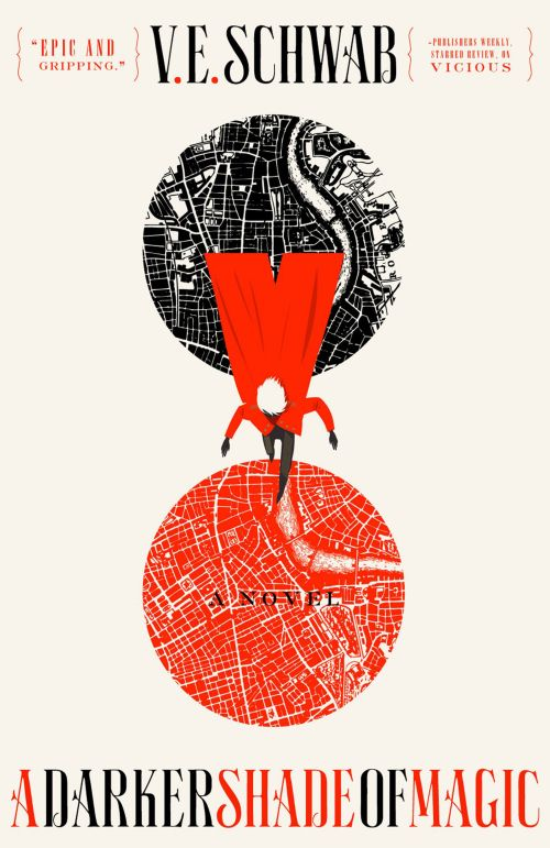 Books by Proxy | The Friday Face-Off  - A Darker Shade of Magic by V.E. Schwab - US cover by Will Staehle