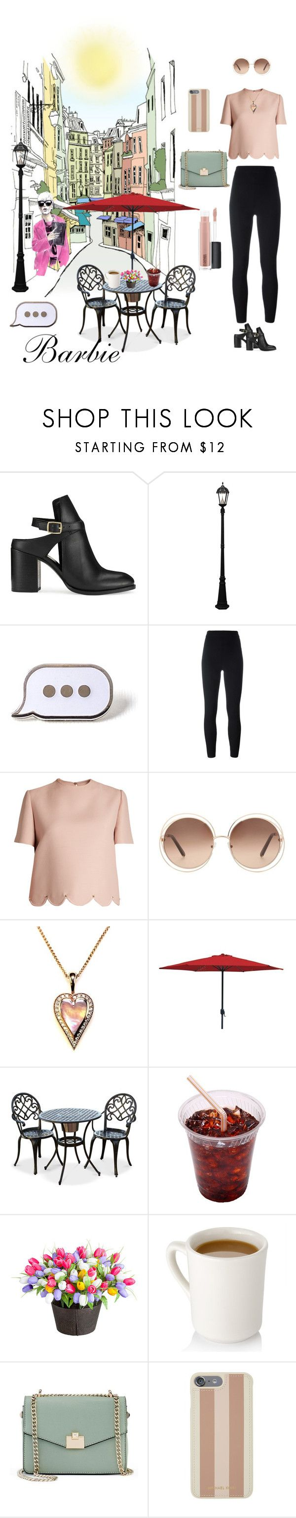 """Cita"" by ramado110 ❤ liked on Polyvore featuring Miss Selfridge, Gama Sonic, PINTRILL, Yeezy by Kanye West, Valentino, Chloé, Improvements, Jennifer Lopez, Michael Kors and MAC Cosmetics"