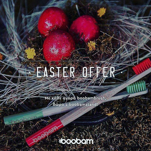 Τώρα με οποιαδήποτε αγορά της αγαπημένης σου @boobambrush σου κάνουμε δώρο την βάση boobambase  #beaplanethero #boobambrush #ecoproducts #greece #happyeaster #greekstyle #wwfgreece #thinkgreen