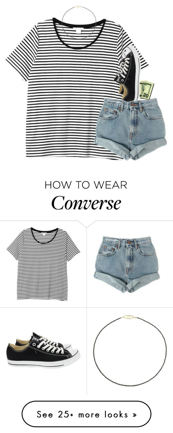 """""""You're the reason that I just can't concentrate❤️"""" by southernstruttin on Polyvore featuring Monki, Levi's, Converse and Uzerai Edits"""