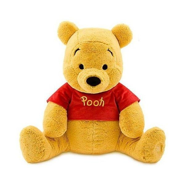 Disney Winnie the Pooh 21 Inch Plush Toy Winnie the Pooh ($60) ❤ liked on Polyvore featuring stuffed animals and toys