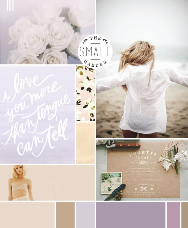 airy purples | moodboard by breanna rose
