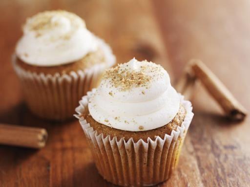 Cupcake au glaçage dd speculoos