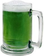 What's St. Patrick's Day without some green beer??