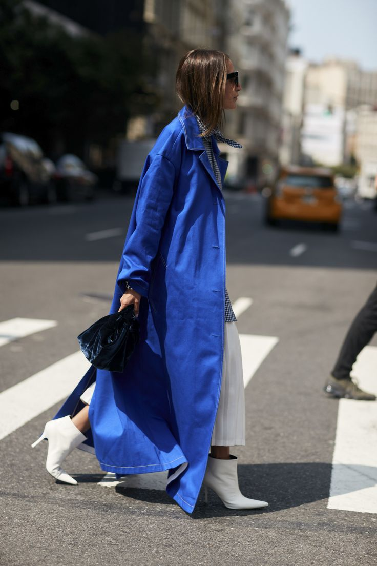 The Best Street Style from New York Fashion Week Street Style Spring 2018 Day 6 Cont., The Best Street Style from New York Spring 2018 at TheImpression.com
