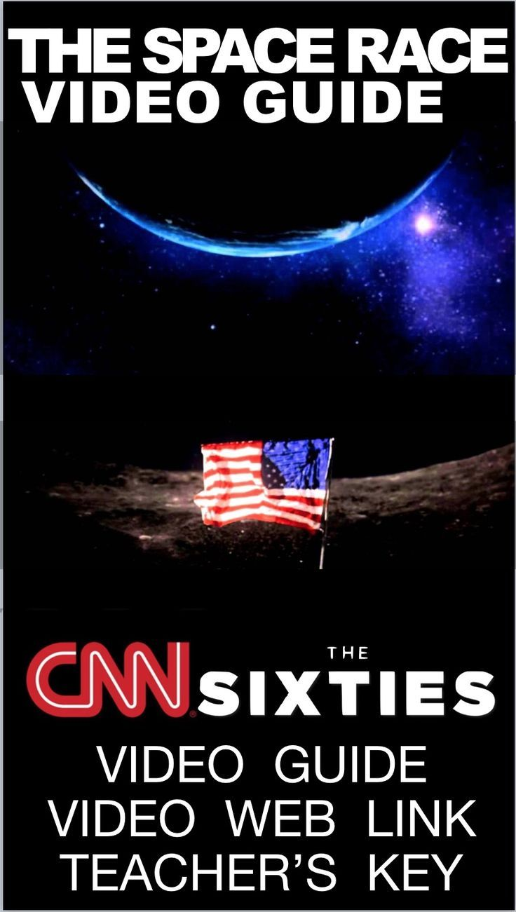 Space Race From Cnn S The Sixties Video Link Video Guide Cold