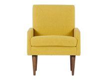 Profile Chair, Amber Linen