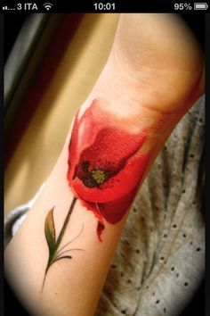 No Line Tattoos on Pinterest | Silver Tattoo Ink Watercolor Flower ...