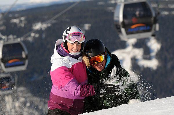 Выйти на Новый год в горнолыжный космос #ski #Hafjell #Norway