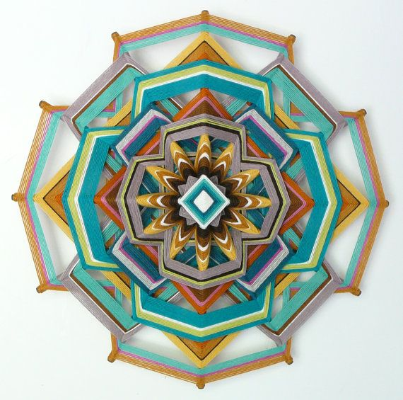Hey, I found this really awesome Etsy listing at http://www.etsy.com/listing/153842204/ojo-de-dios-yarn-mandala-heart-of-gold