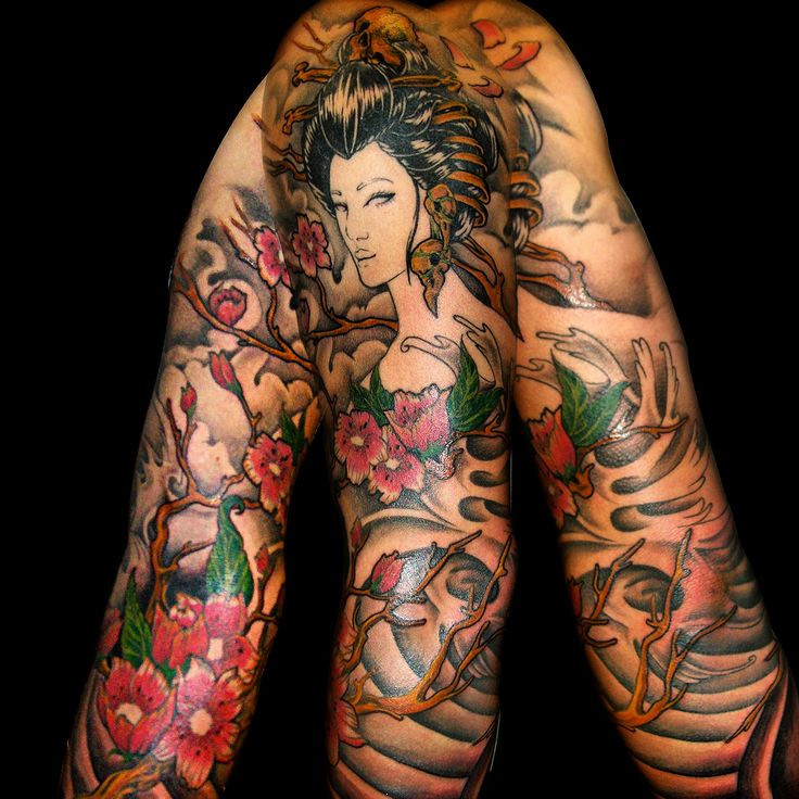 25 best japanese tattoo images on pinterest japan tattoo for Japanese sleeve tattoos meanings