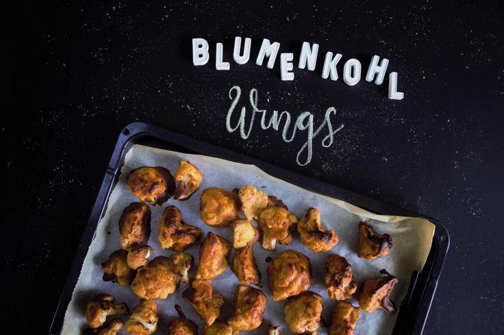 Blumenkohl Wings= Buffalo Wings = Vegetarische Chicken Wings- Leckere fleischlose Alternative, vergetarisch/ vegan... Kids einfach Gemüse schmackhaft machen
