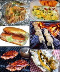 Complete Camping Menus, Camping Food Ideas, and Camp Food Recipes Ideas
