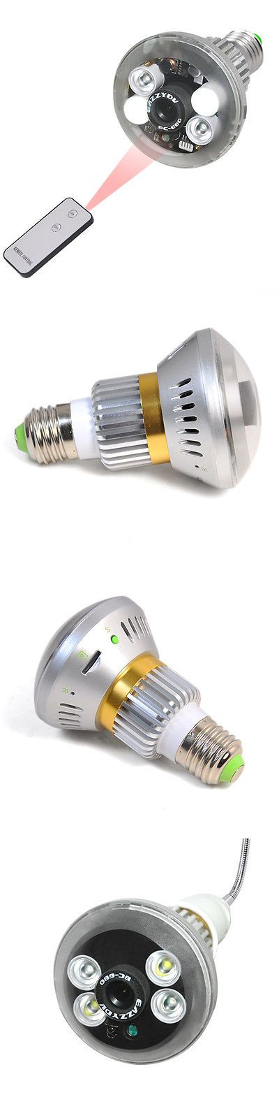 Other Home Surveillance: Light Bulb With Hidden Camera -> BUY IT NOW ONLY: $99.95 on eBay!