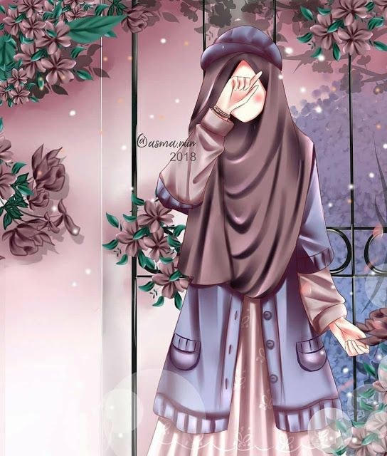 Cartoon Wallpaper Hipster Modern Hijab Cartoon Novocom Top