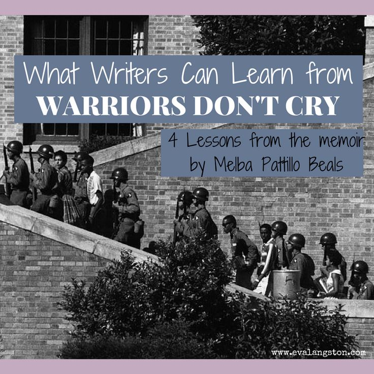 warriors dont cry by melba beals essay In the book warriors don't cry by melba pattillo beals, the period of desegregation in the south was one of the toughest times in history melba was a young girl who had to witness this terrible experience which is vividly described throughout the book.