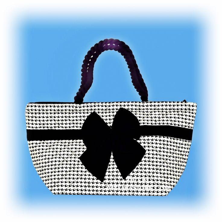NaRaYa  Black Ribbon Hand Bag, RM70.00