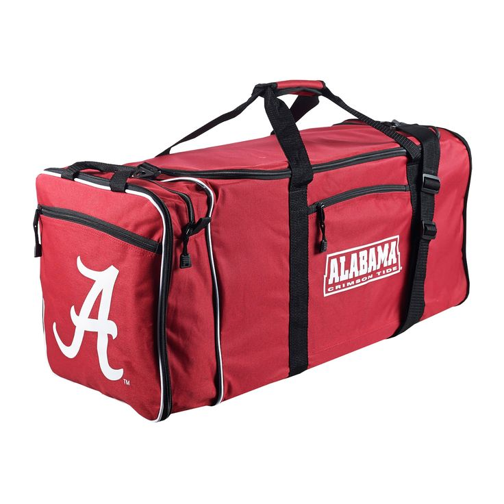 Offically Licensed NCAA Oklahoma Sooners Steal Duffel Bag 28 Multi Color